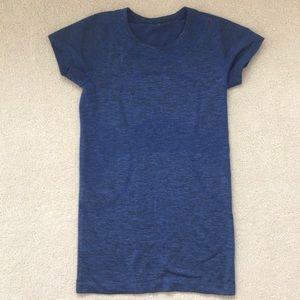 Dark Blue Lululemon Short Sleeve